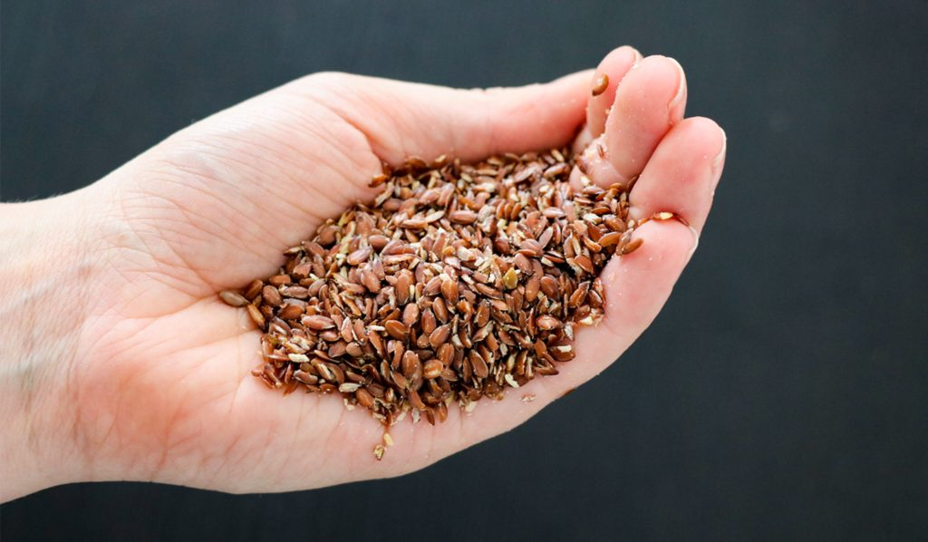 flaxseed-oestrogen-lowering-food